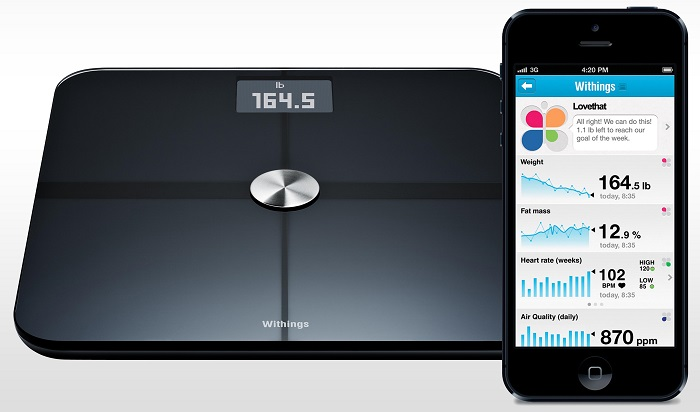 Smart Scales IoT project